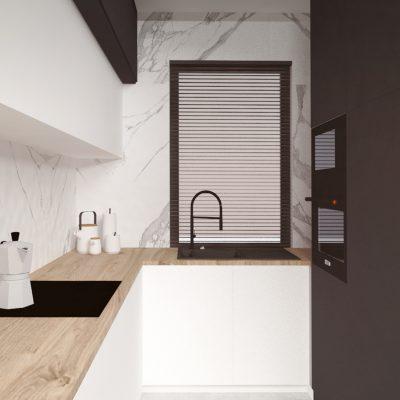 Szeregówka mieszkanie – Wnętrze